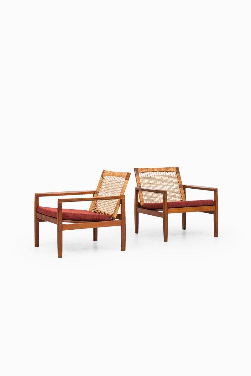 Modell 519 Sessel von Hans Olsen für Juul Kristensen, 2er Set