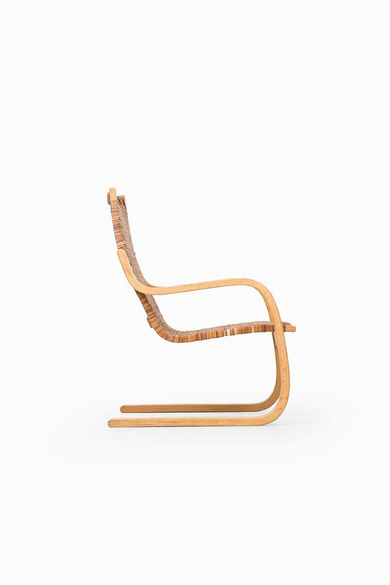 Cantilever Easy Chair 406 by Alvar Aalto for Artek  sc 1 st  Pamono & Cantilever Easy Chair 406 by Alvar Aalto for Artek for sale at Pamono