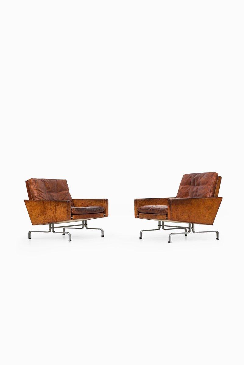 Dänische PK-31/1 Sessel von Poul Kjærholm für E. Kold, 1958, 2er Set