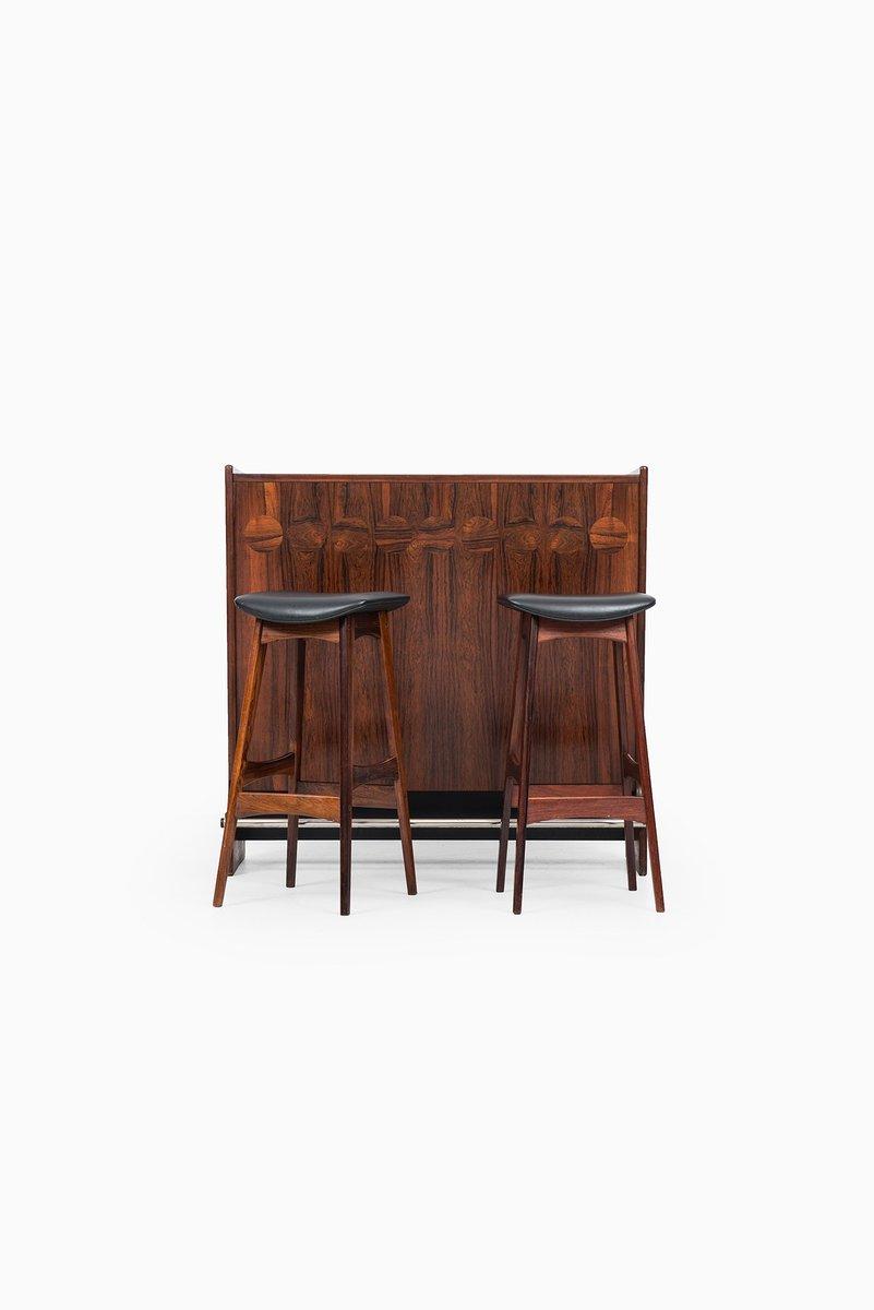 Modell SK661 Bar mit Hockern von Johannes Andersen für J. Skaaning & S...   Küche und Esszimmer > Bar-Möbel > Bars   Braun