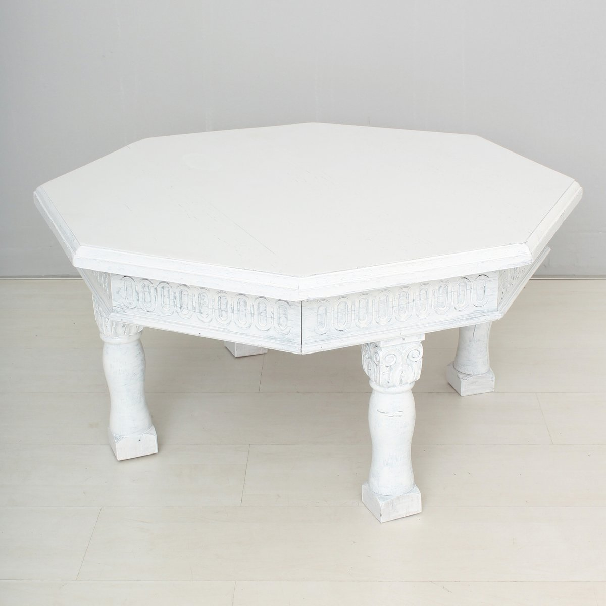 Vintage White Coffee Table For Sale At Pamono