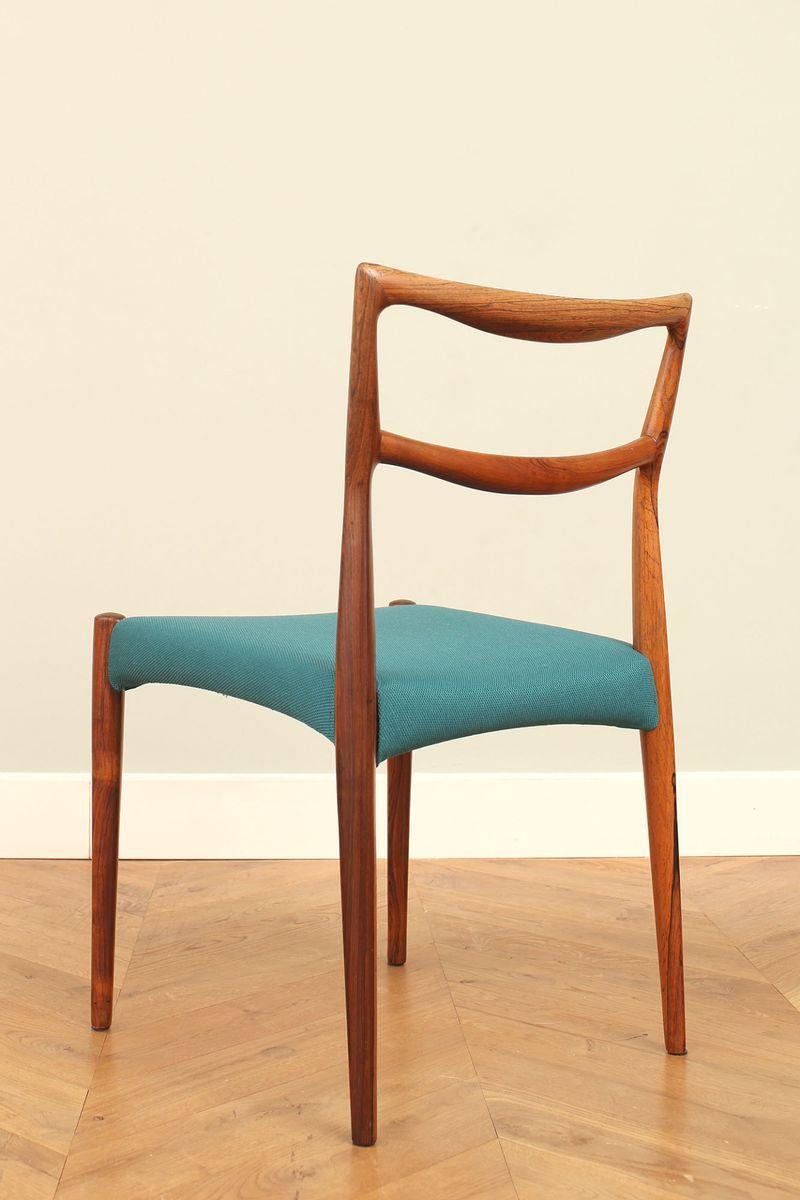 d nische palisander st hle von h w klein 1960er 6er set bei pamono kaufen. Black Bedroom Furniture Sets. Home Design Ideas