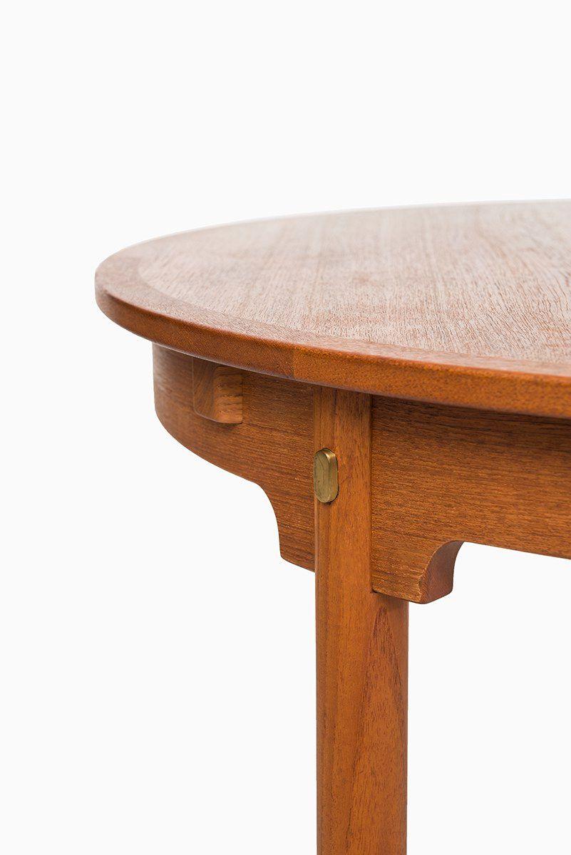 resund esstisch von b rge mogensen f r fredericia 1950er bei pamono kaufen. Black Bedroom Furniture Sets. Home Design Ideas