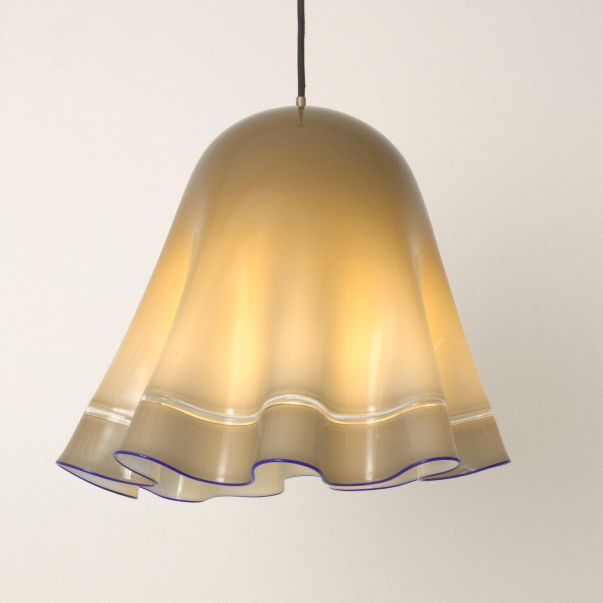 Vintage grey blue murano glass pendant lamp for sale at pamono vintage grey blue murano glass pendant lamp aloadofball Image collections