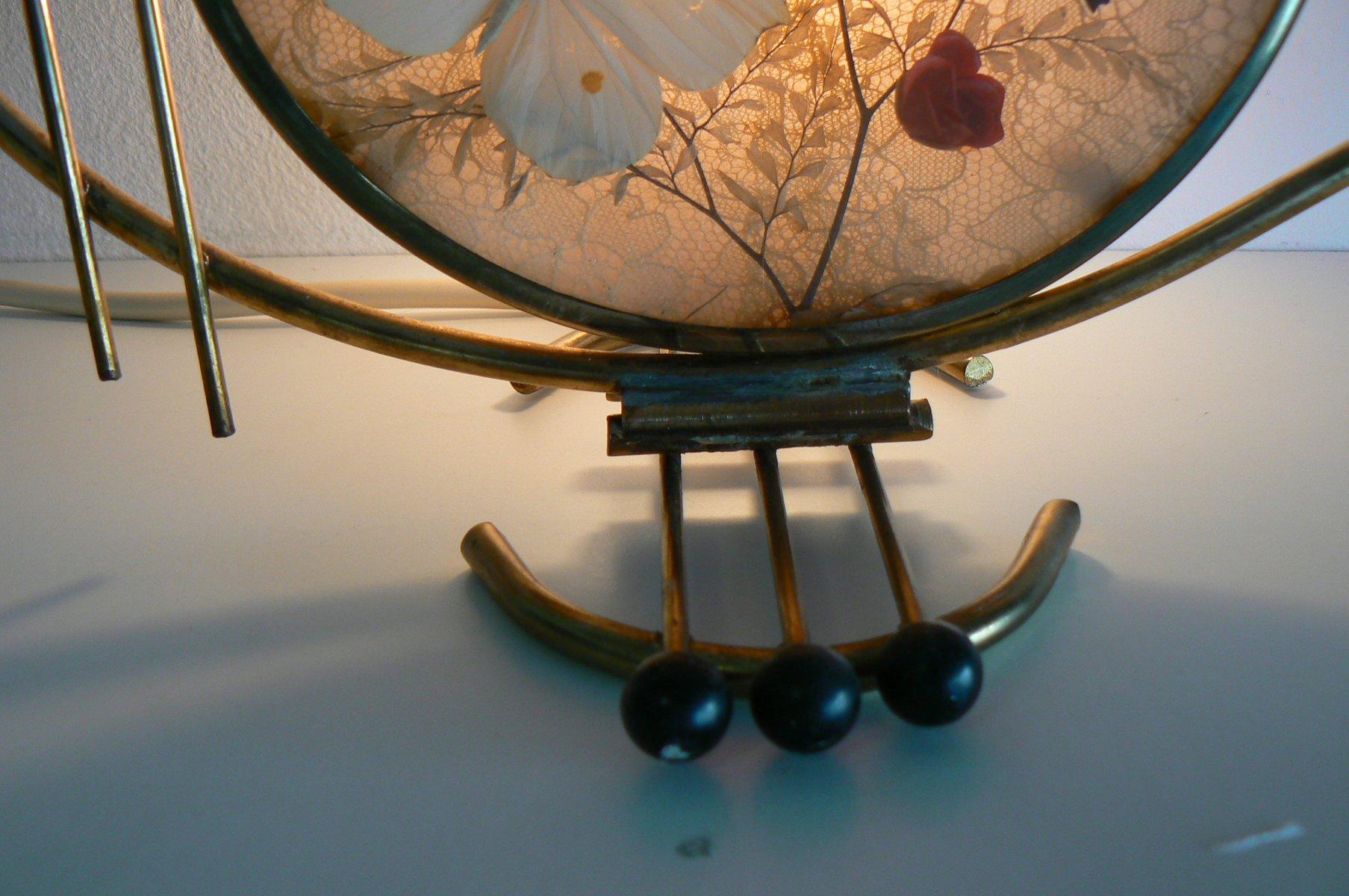lampe de bureau papillon art d co allemagne 1950s en vente sur pamono. Black Bedroom Furniture Sets. Home Design Ideas