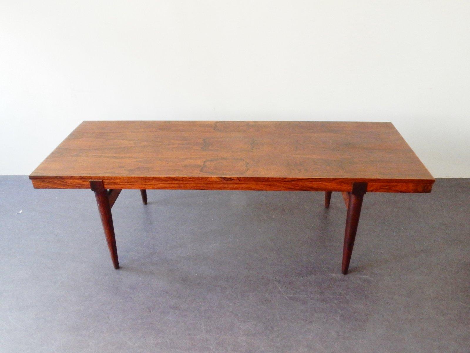 table basse extensible en palissandre danemark en vente sur pamono. Black Bedroom Furniture Sets. Home Design Ideas