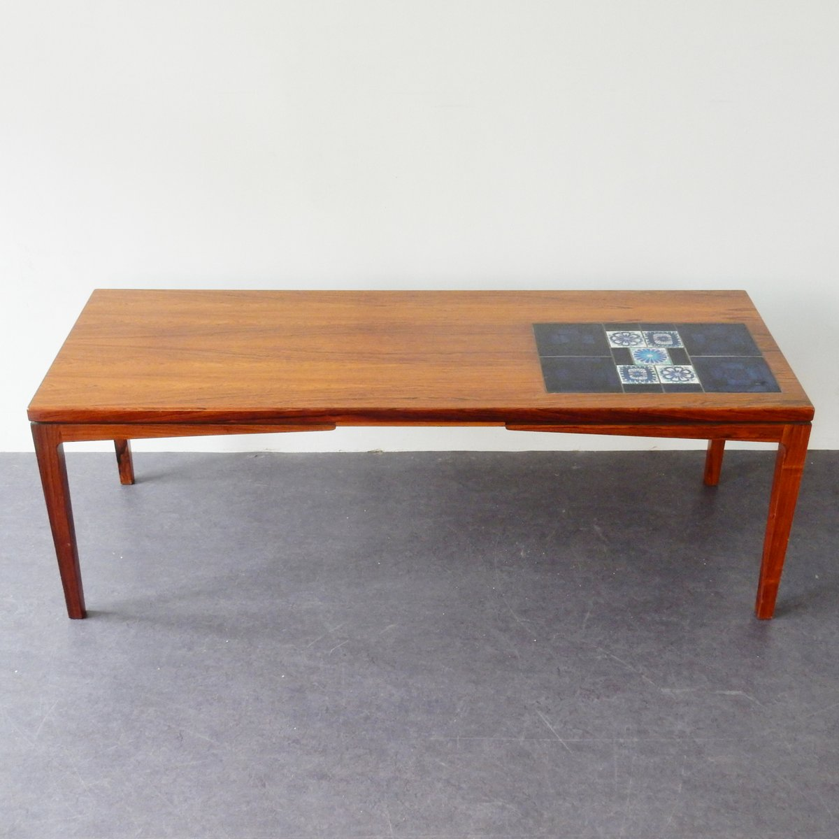 Mid Century Modern Coffee Table Australia: Mid-Century Coffee Table With Tiles For Sale At Pamono