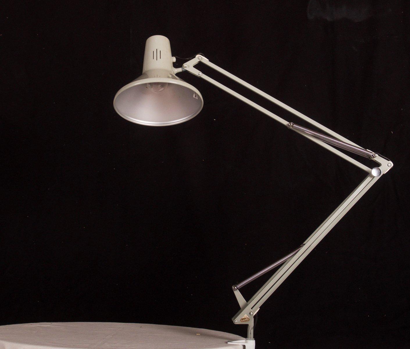 Graue Tischlampe von Luxo