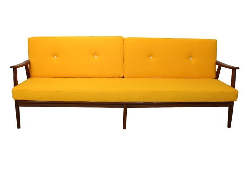 schwedisches zwei sitzer sofa von folke ohlsson f r dux 1960er bei pamono kaufen. Black Bedroom Furniture Sets. Home Design Ideas