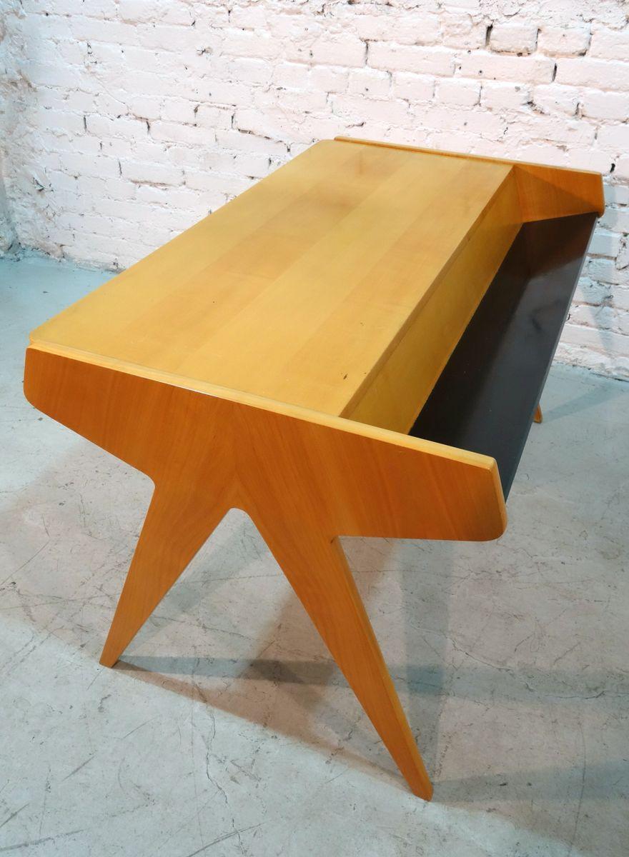 schreibtisch von helmut magg f r wk m bel 1957 bei pamono kaufen. Black Bedroom Furniture Sets. Home Design Ideas