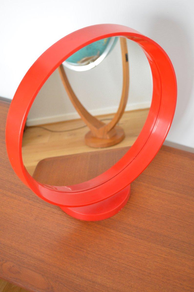 Espejo de mesa alem n de pl stico a os 70 en venta en pamono - Espejo de plastico ...