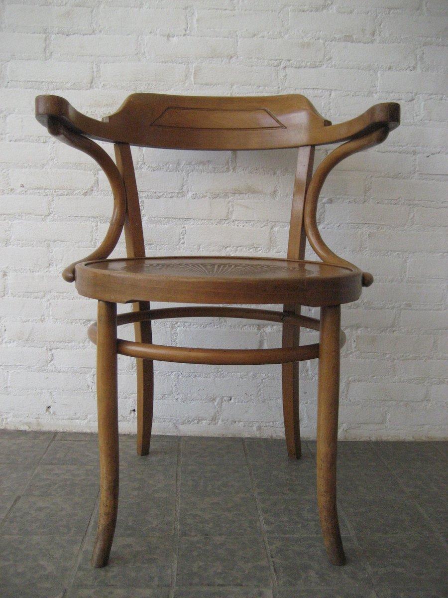 chaise en bois de h tre avec accoudoirs de luterma france. Black Bedroom Furniture Sets. Home Design Ideas