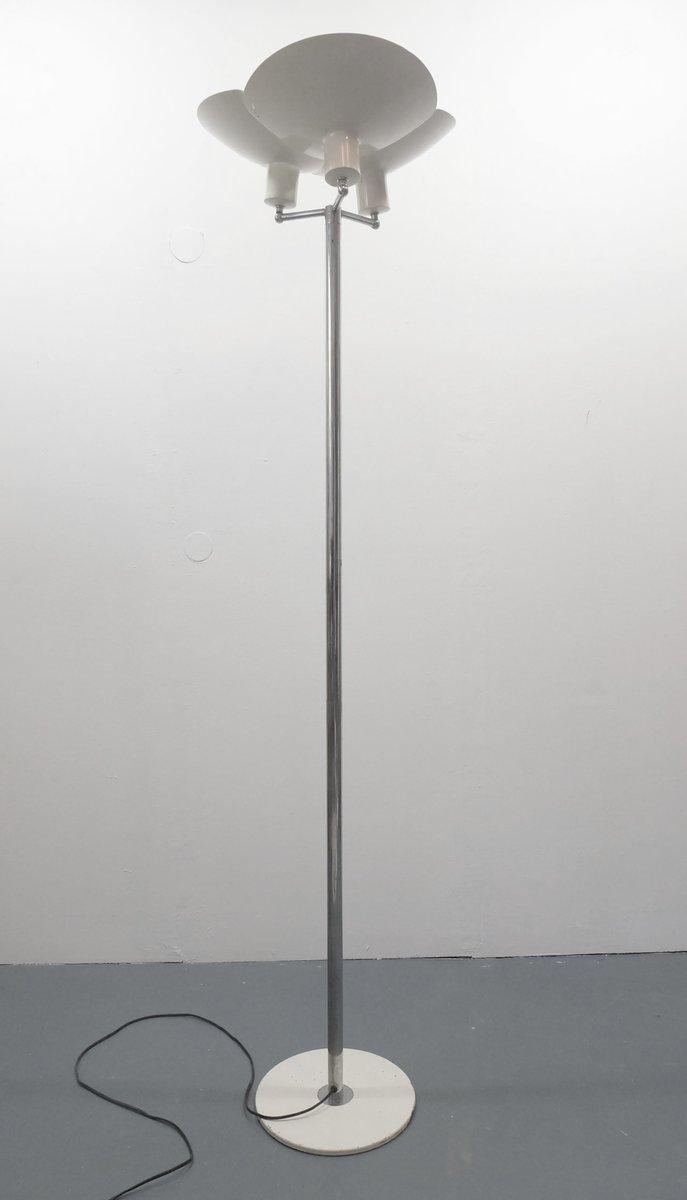 Skandinavische Deckenfluter Stehlampe, 1960er
