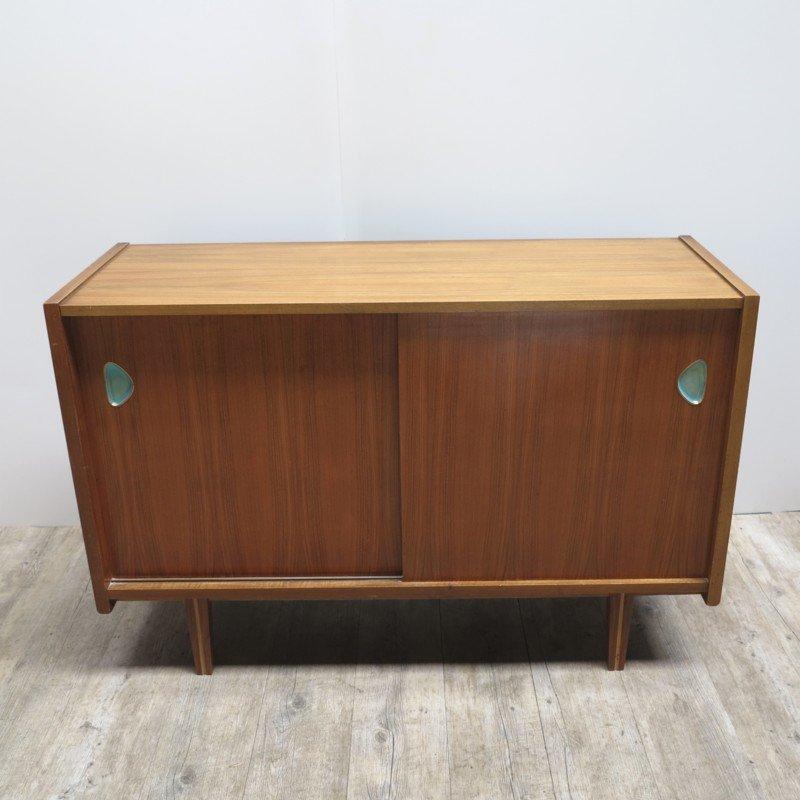 Zweitüriges Deutsches Vintage Sideboard