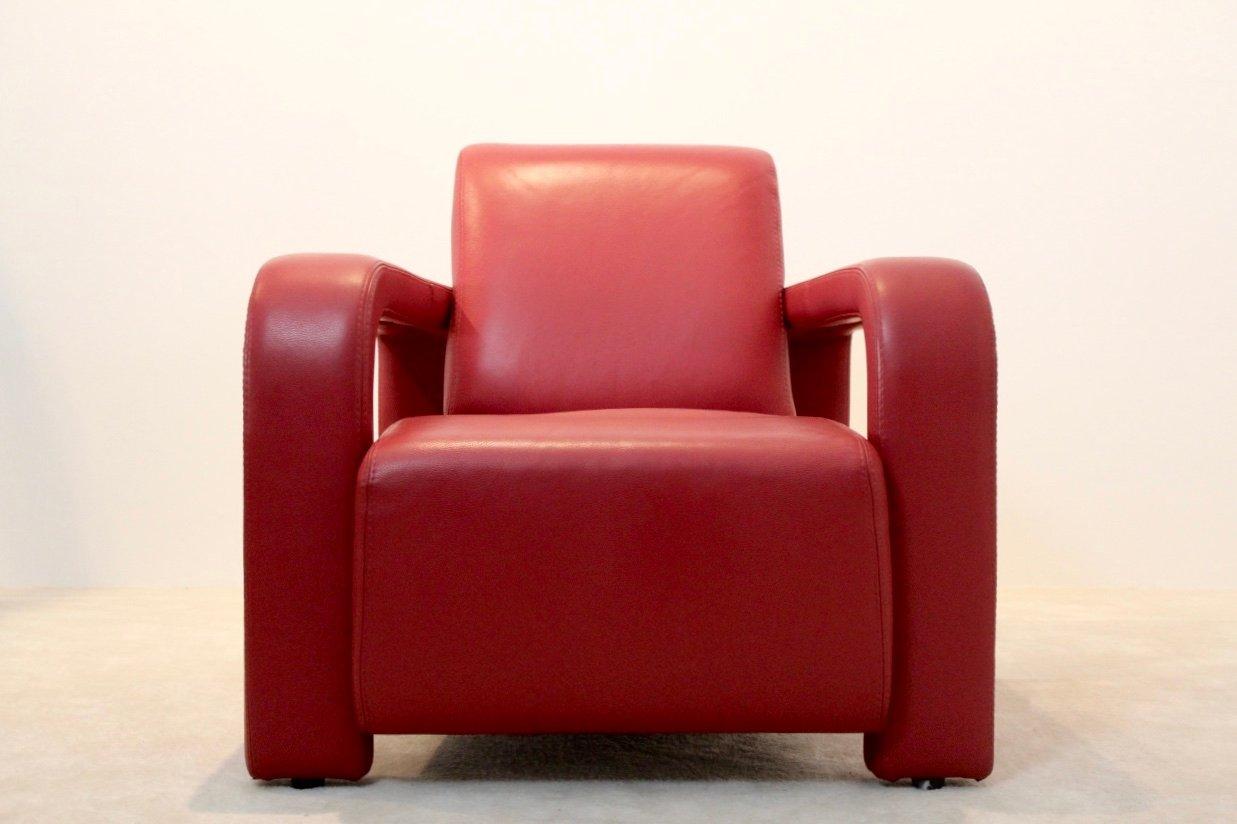 italienische vintage ledersessel von marinelli 2er set. Black Bedroom Furniture Sets. Home Design Ideas