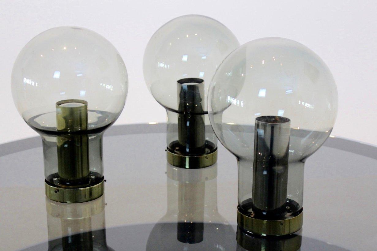 gro e maxi globe lampen von raak 1965 bei pamono kaufen. Black Bedroom Furniture Sets. Home Design Ideas
