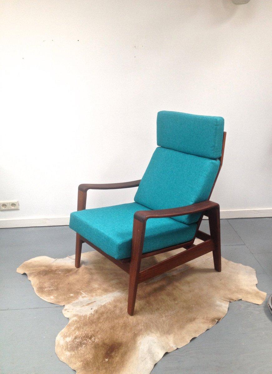 Mid-Century Teakholz Sessel von Arne Wahl Iversen für Komfort