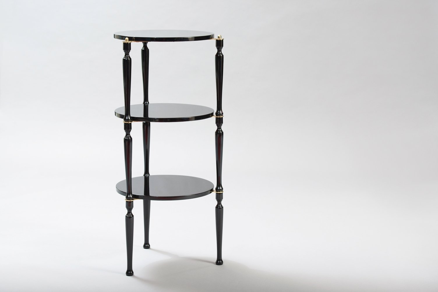 Mid Century Stackable Italian Side Tables Set Of 3