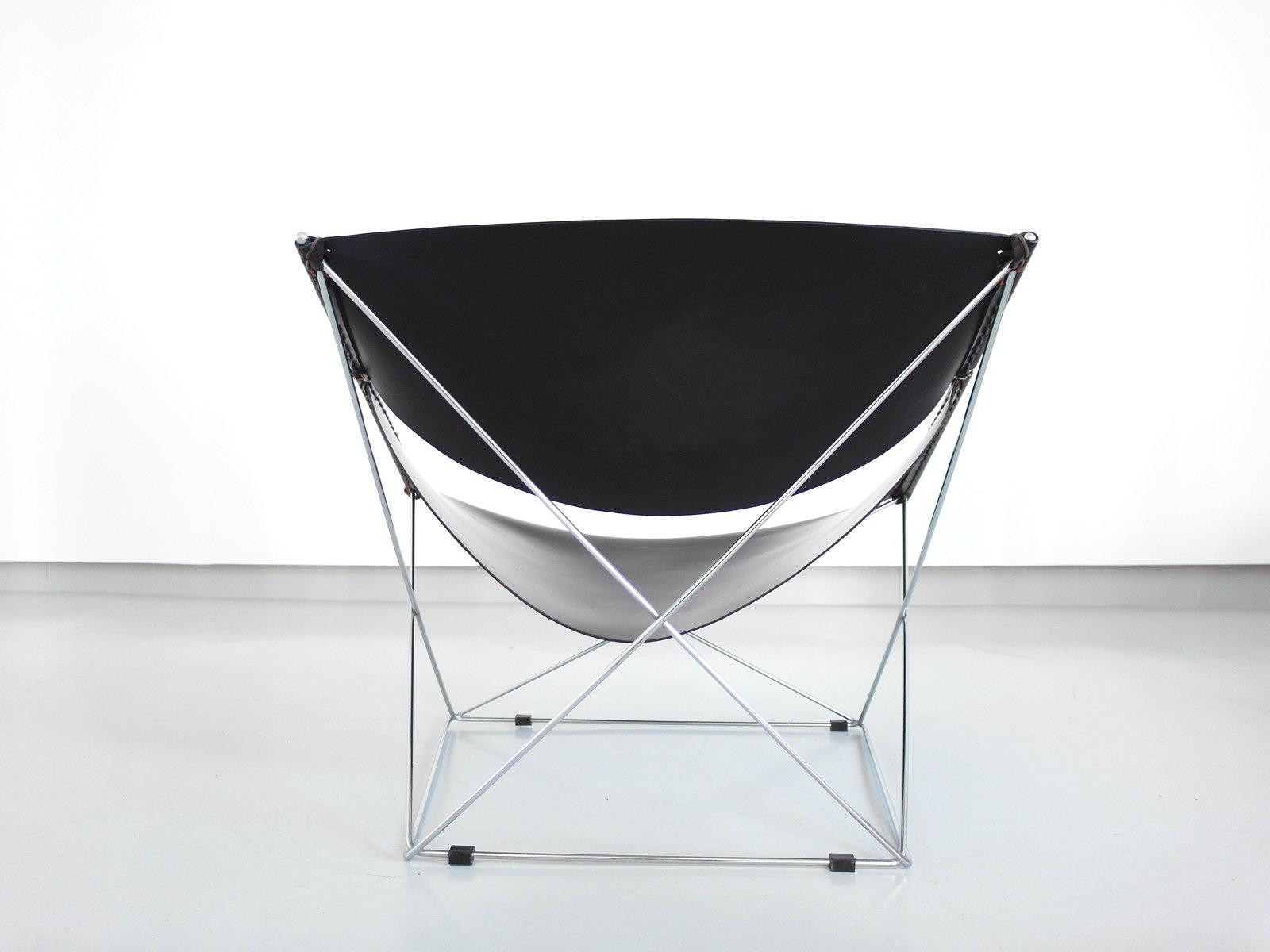 fauteuil butterfly par pierre paulin pour artifort 1971 en vente sur pamono. Black Bedroom Furniture Sets. Home Design Ideas