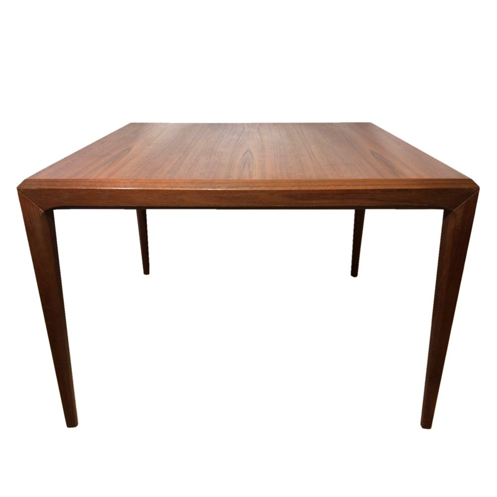 Cb2 Mid Century Coffee Table: Mid-Century Cubic Teak Coffee Table By Johannes Andersen