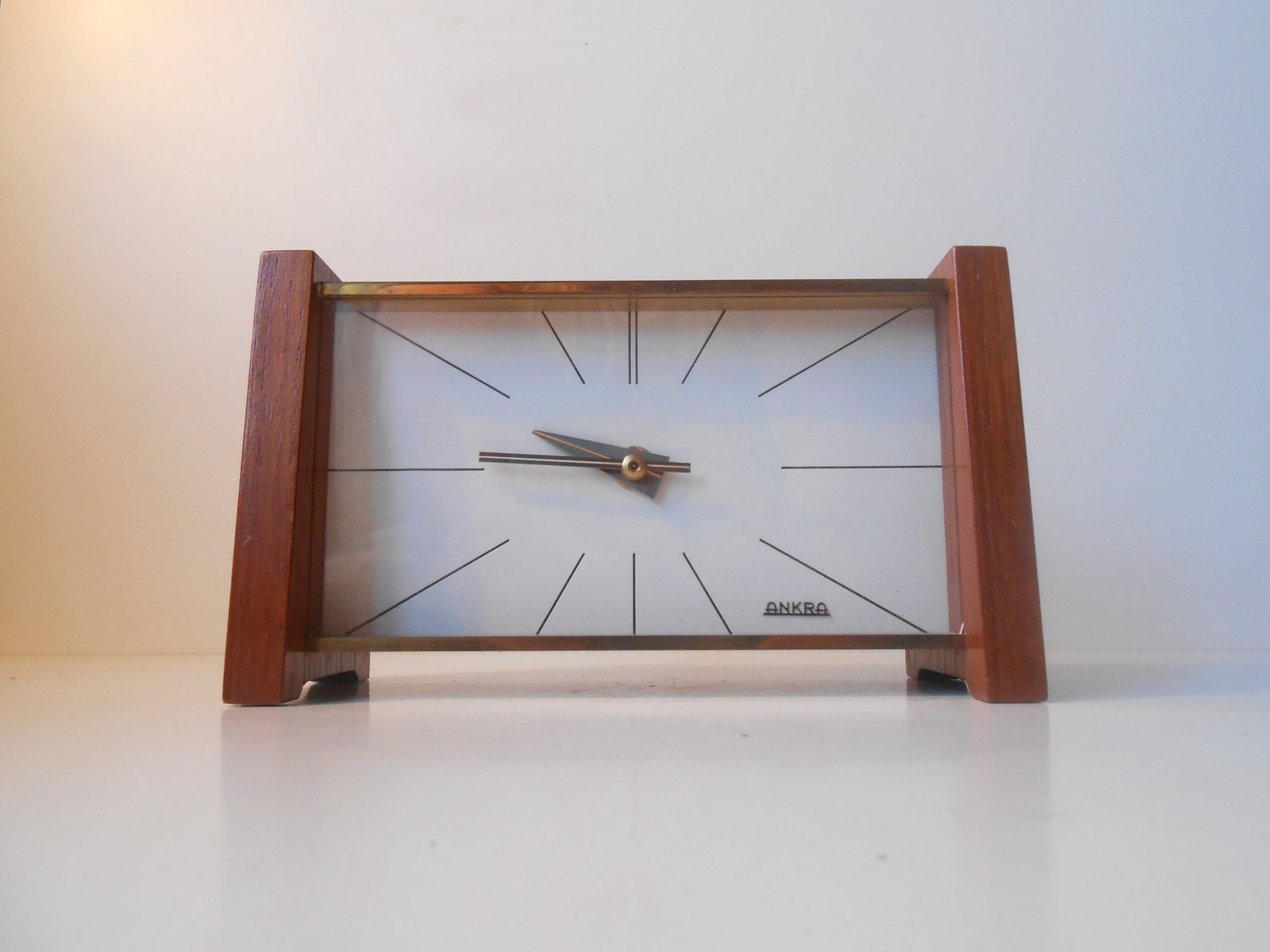 Mid Century Modern Table Clock From Ankra For Sale At Pamono