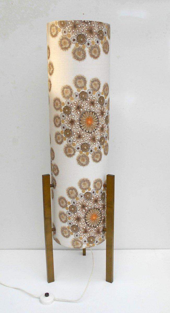Italienische Stehlampe aus Karton & Stoff von Bruno Munari, 1960er