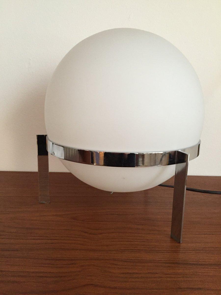 Schweizer Luna Tischlampe von Alfred Hablützel, 1958