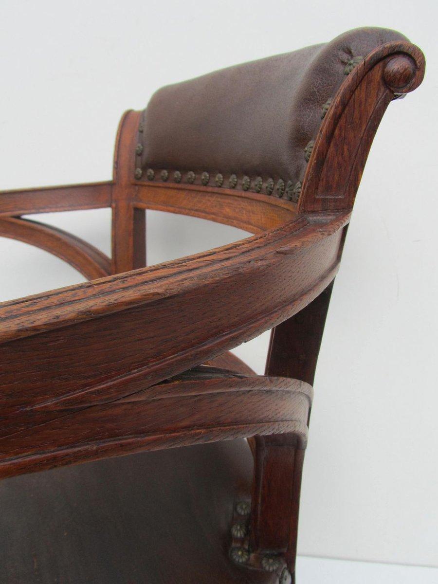 englische arts crafts his hers armlehnst hle 1880er 2er set bei pamono kaufen. Black Bedroom Furniture Sets. Home Design Ideas