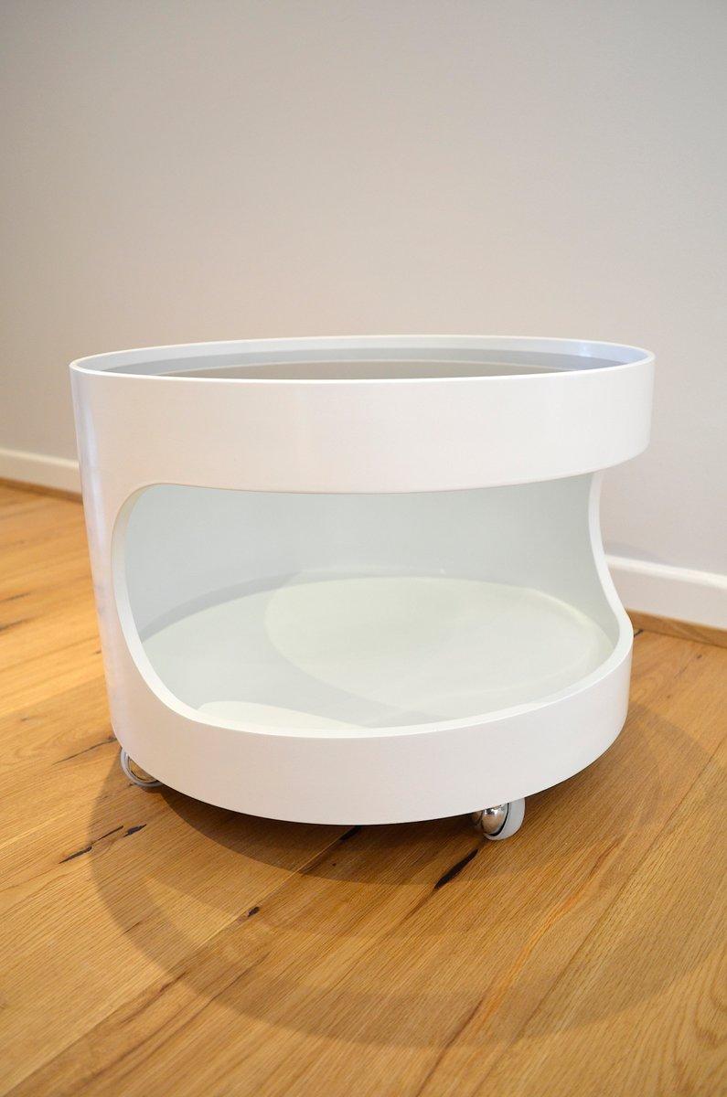 deutscher beistelltisch von opal m bel 1960er bei pamono kaufen. Black Bedroom Furniture Sets. Home Design Ideas
