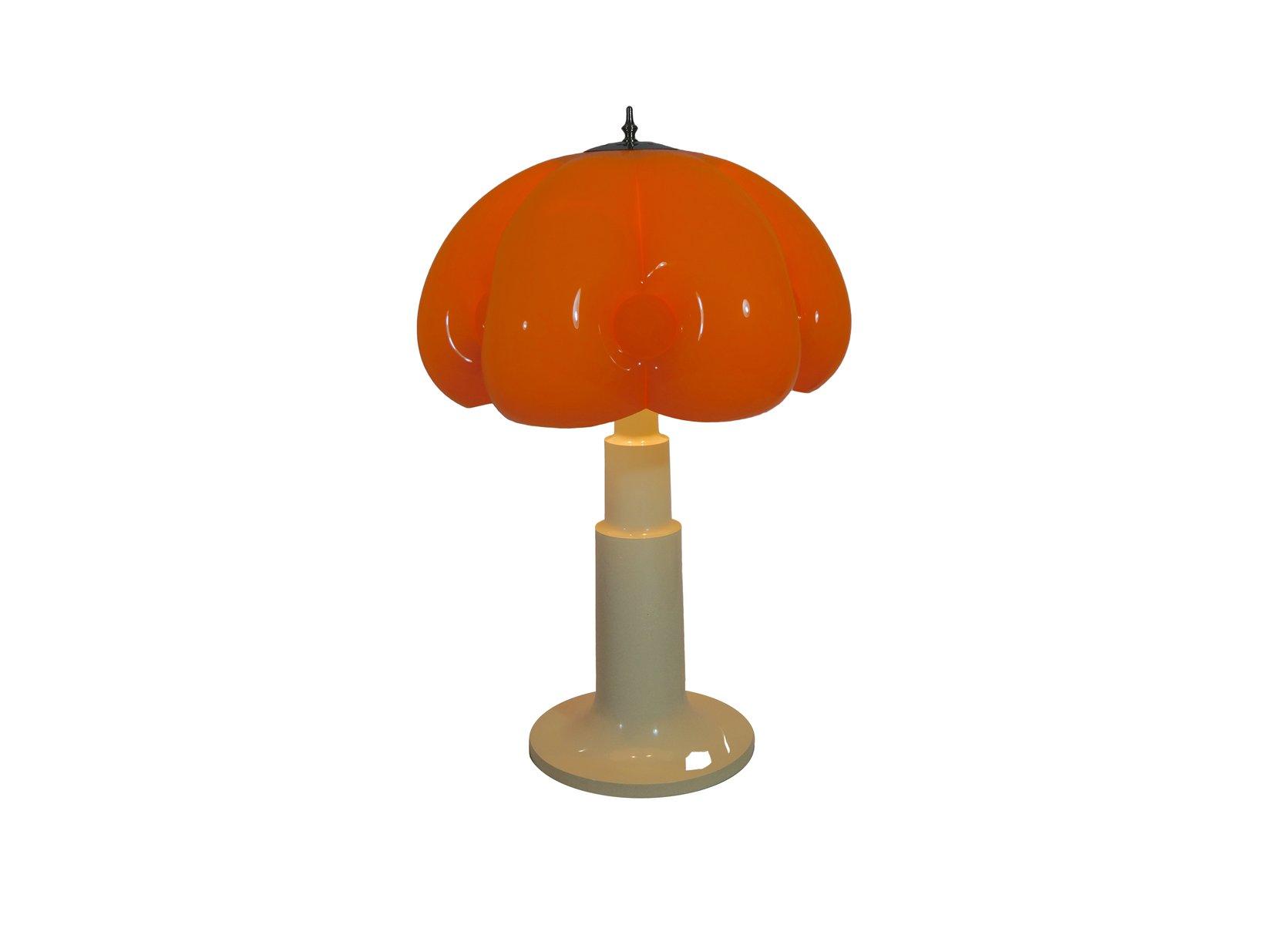 Italienische Mushroom Tischlampe von Foscarini, 1970er