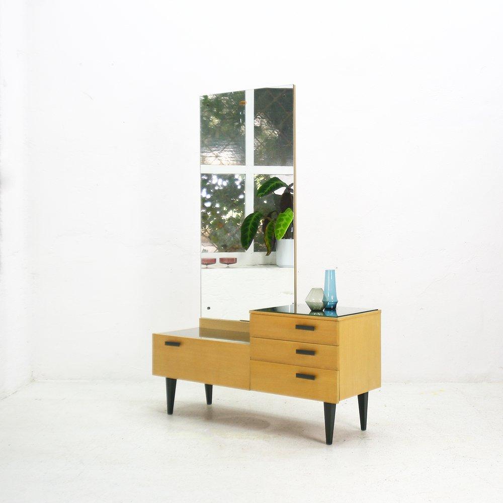 frisiertisch mit spiegel 1950er bei pamono kaufen. Black Bedroom Furniture Sets. Home Design Ideas