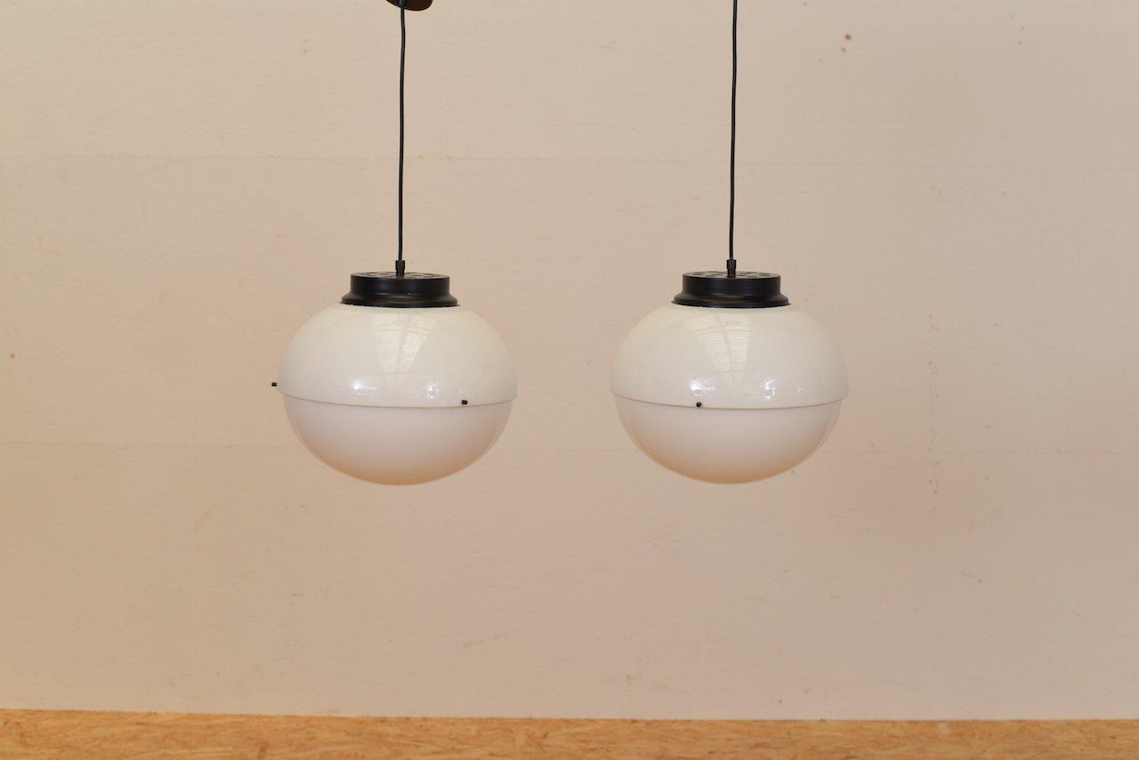 Italienische Modell 4022 Deckenlampen von Luigi Bandini Buti für Karte...