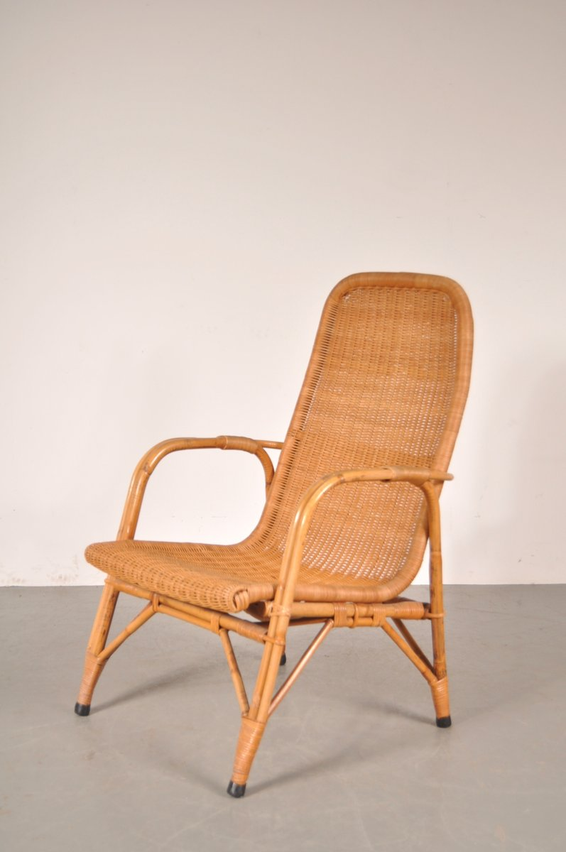 High Back Easy Chair By Dirk Van Sliedregtfor Gebroeders Jonkers