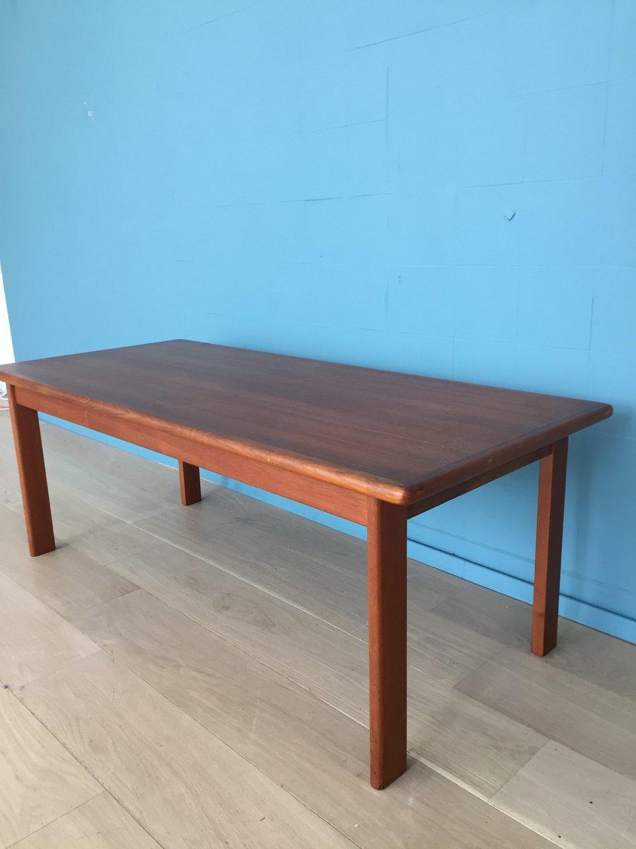 Danish Teak Coffee Table, 1965 for sale at Pamono