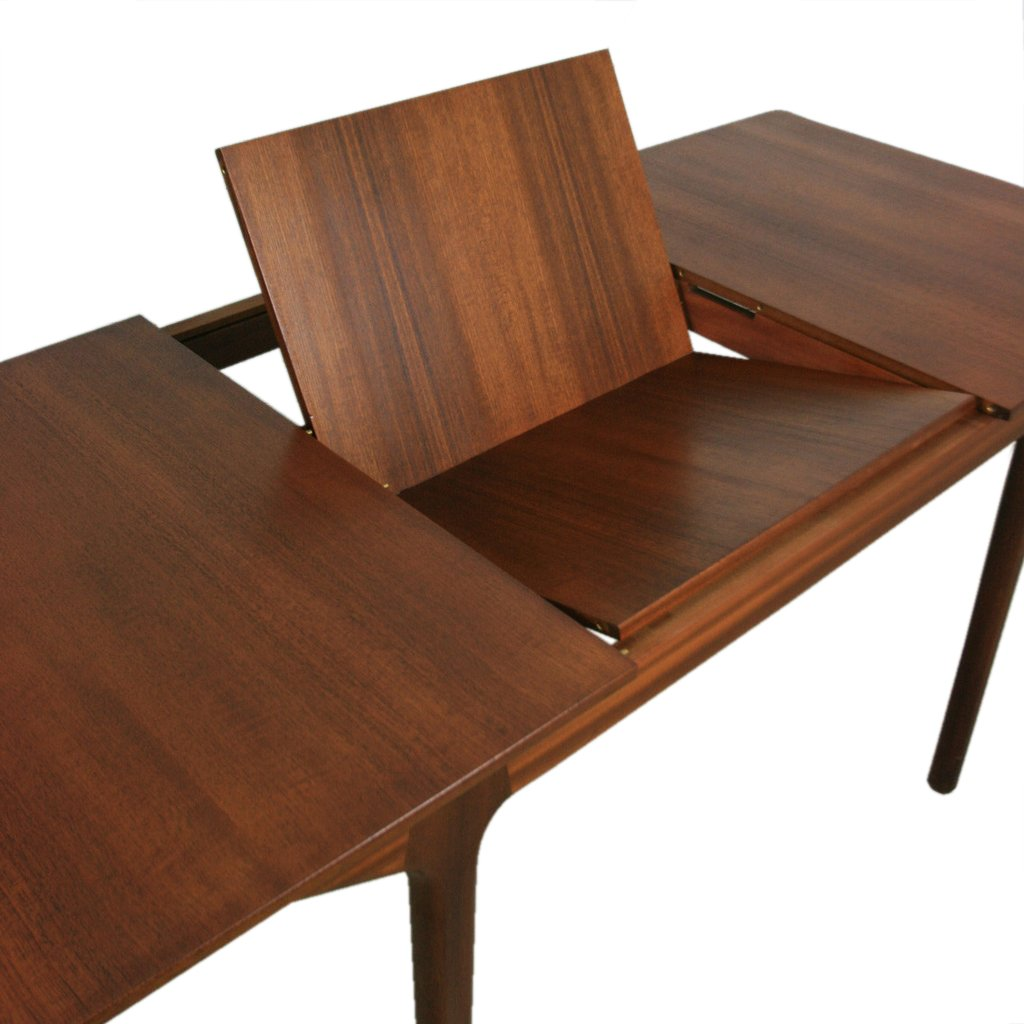 grande table de salle manger mid century 12 places en. Black Bedroom Furniture Sets. Home Design Ideas
