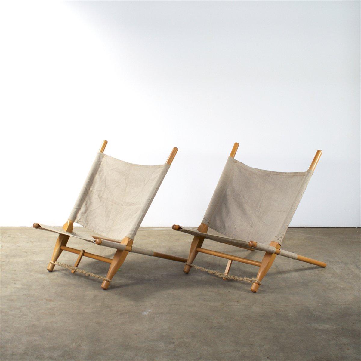 Dänische Saw Sessel von Ole Gjerløv-Knudsen für Cado, 1960er, 2er Set