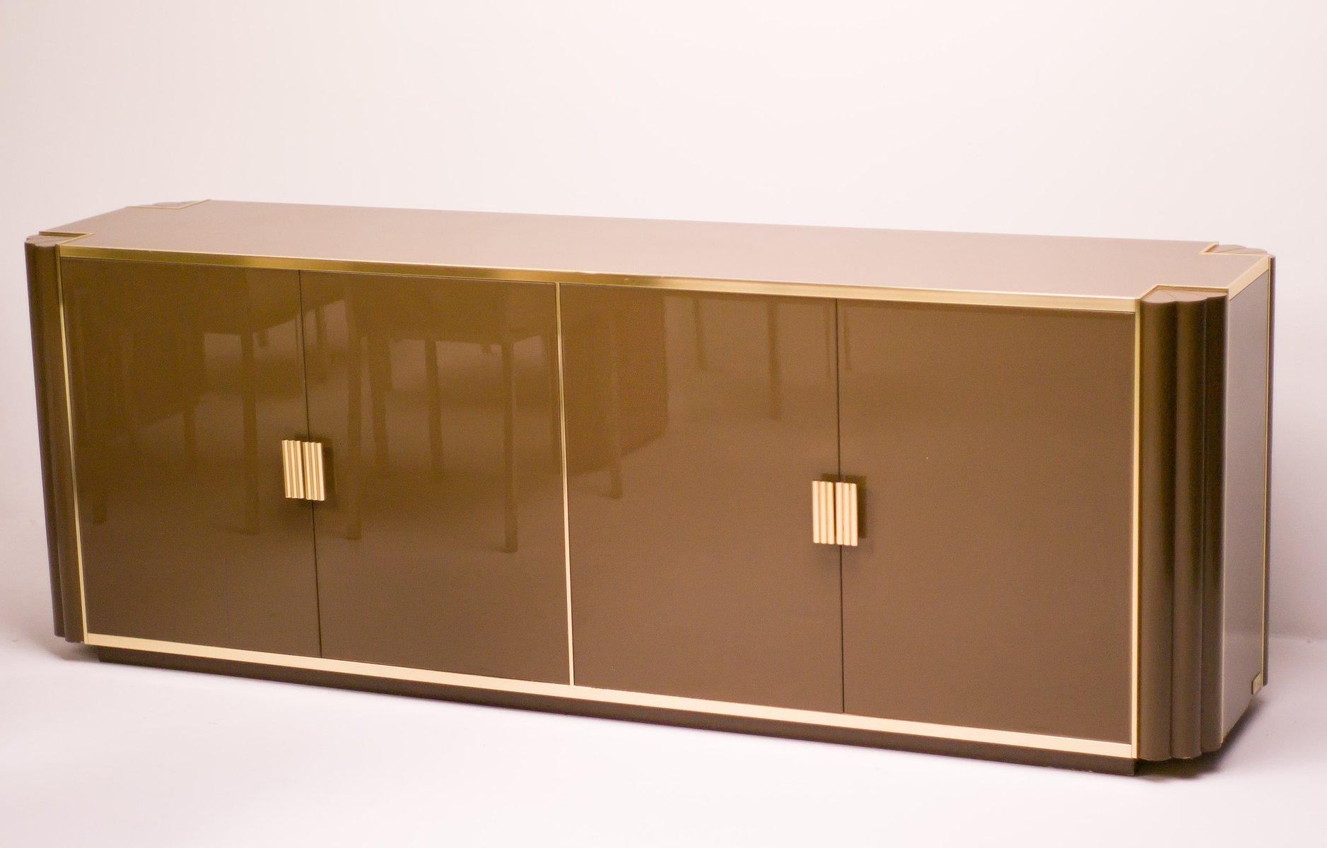 franz sisches esszimmerset von alain delon f r maison jansen 1970er 10er set bei pamono kaufen. Black Bedroom Furniture Sets. Home Design Ideas