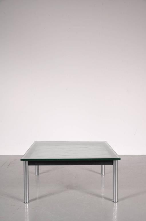 Tavolino da caffè LC10 di Le Corbusier per Cassina, Italia, anni \'80 ...