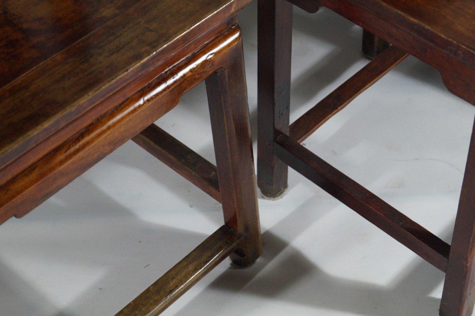 antike rote chinese st hle aus geschnitztem holz 1860er 4er set bei pamono kaufen. Black Bedroom Furniture Sets. Home Design Ideas