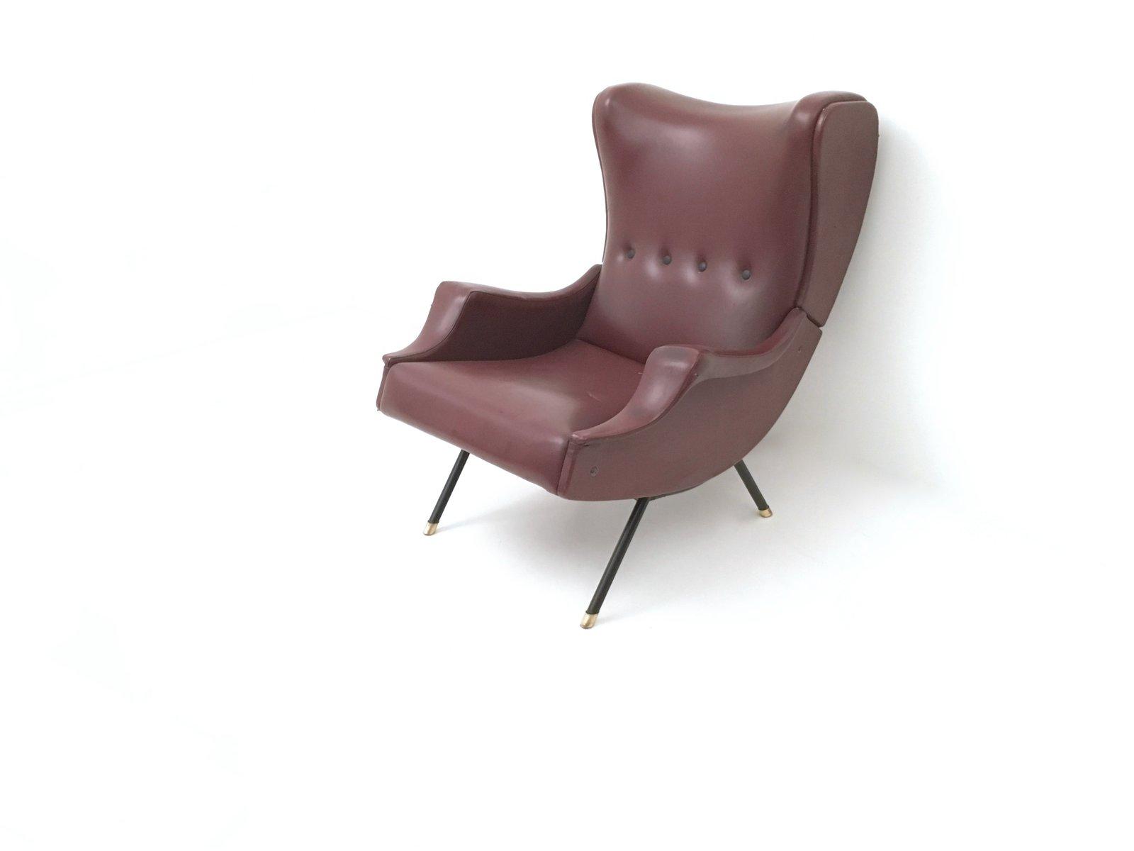 Messing & Metall Sessel, 1950er
