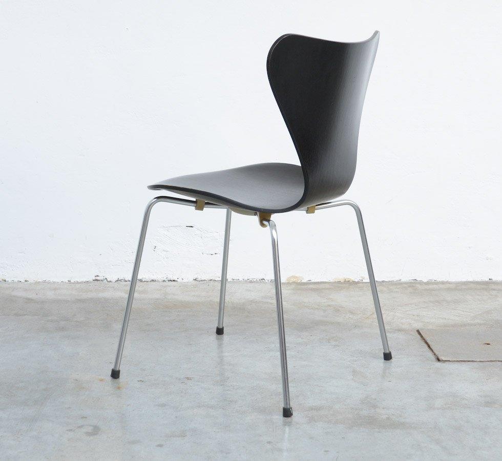 chaise 3107 series butterfly par arne jacobsen pour fritz hansen 1968 en vente sur pamono. Black Bedroom Furniture Sets. Home Design Ideas
