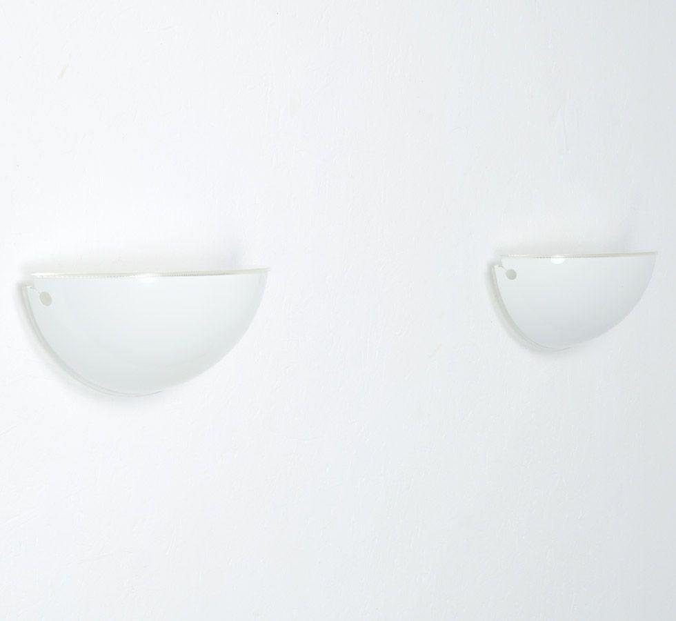 Quarto Wandlampe von T. Scarpa für Flos, 1970er
