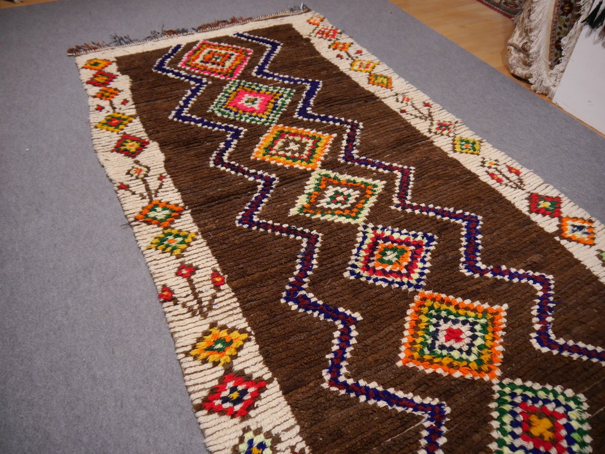 Tapis Berbere Azilal Vintage En Vente Sur Pamono