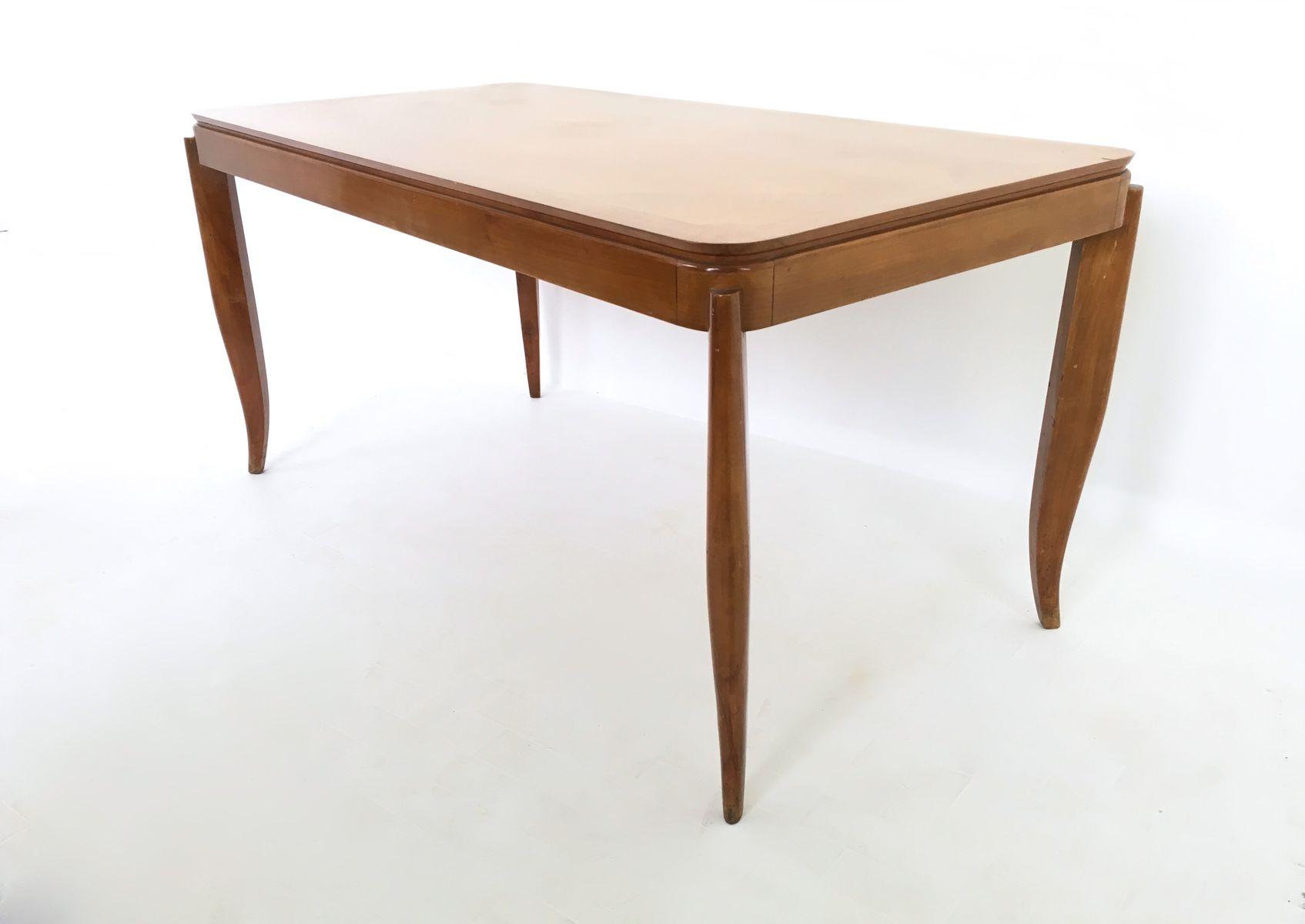 Vintage Esstisch aus Kirschholz