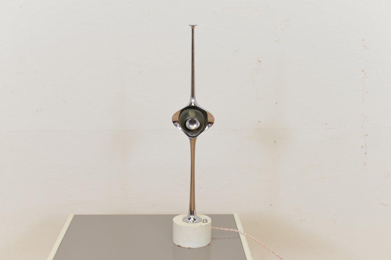 Italienische Cobra Tischlampe von Angelo Lelli für Arredoluce, 1960er