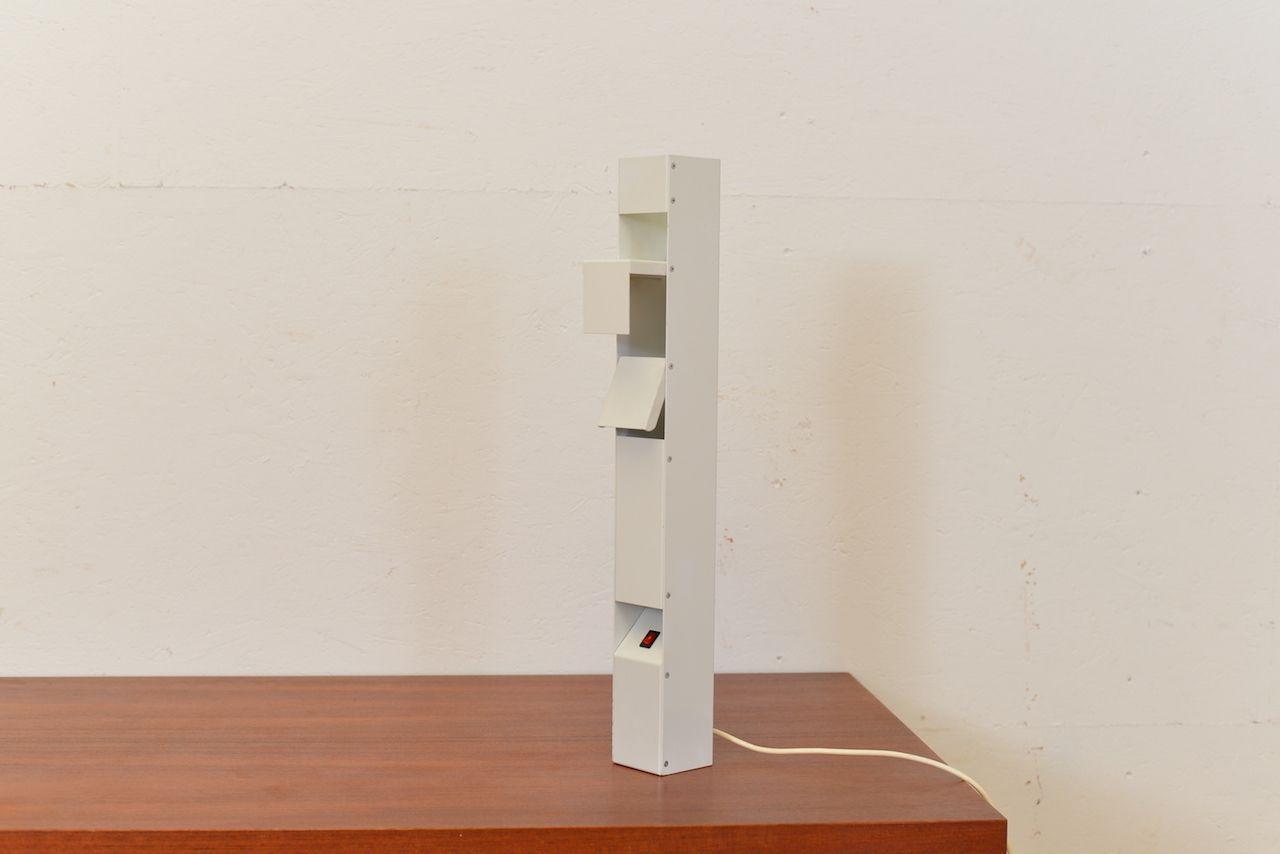 Shweizer Tischlampe von Walter Hunziker für Lehni, 1980er