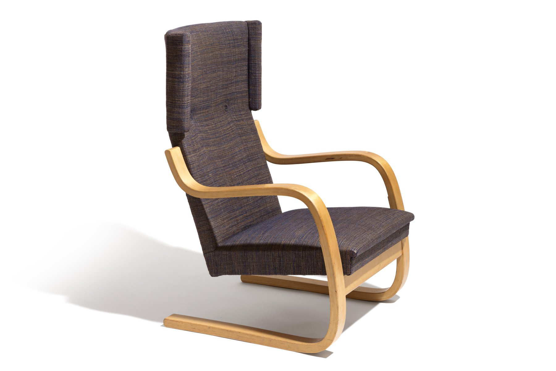 Etonnant Vintage 36/401 Wingback Lounge Chair By Alvar Alto For Artek