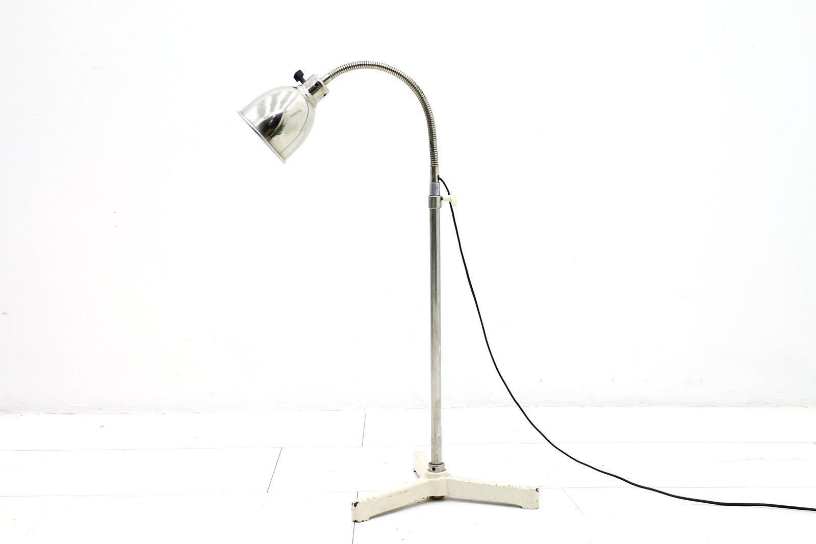 Metall Stehlampe von Christian Dell