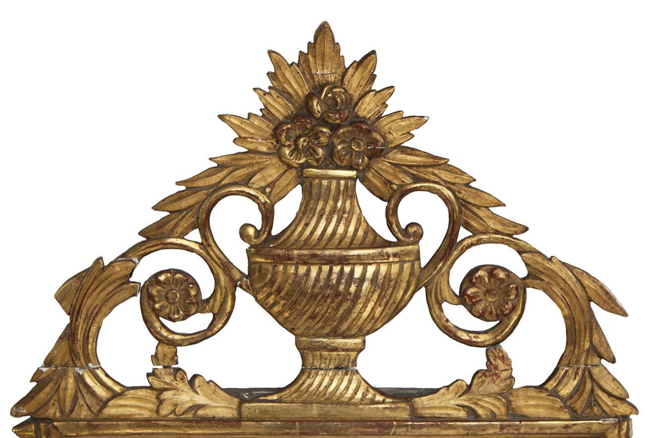 Specchio antico in legno dorato francia in vendita su pamono - Specchio dorato antico ...