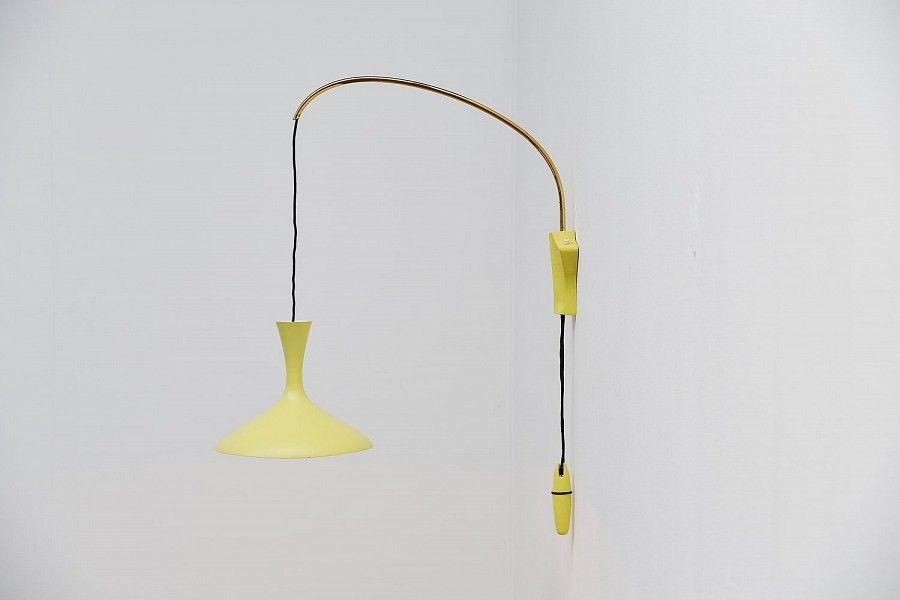 Deutsche Wandlampe von Cosak, 1960er